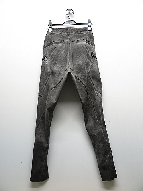 KMRii・ケムリ/Double Pocket Twill Pants 03/Charcoal