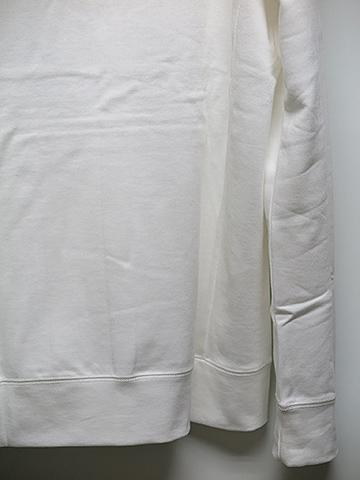 SALE60%OFF/GalaabenD(ガラアーベント)ペルヴィアンピマクラシック裏毛プルオーヴァーフーデット・オフホワイト.