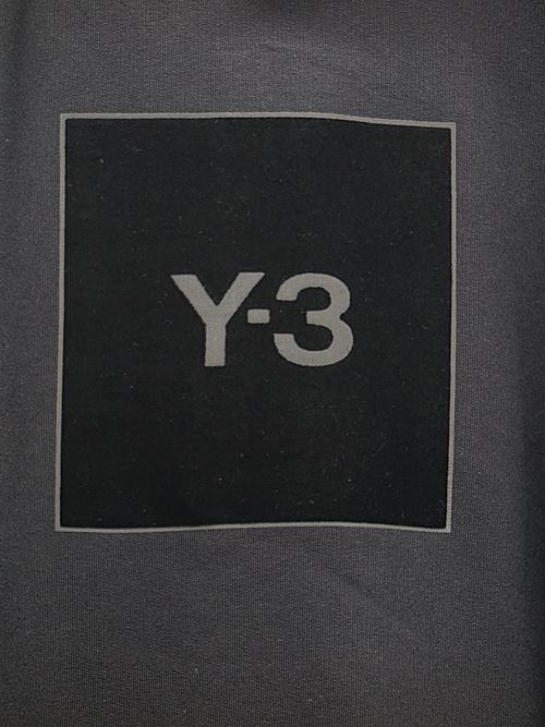 Y-3・ワイスリー/U SQUARE LOGO HOODIE/BLACK