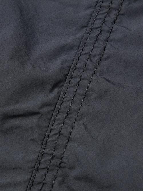 RIPVANWINKLE・リップヴァンウィンクル/タイプライターストレッチ CROPPED EASY PANTS/BLK.