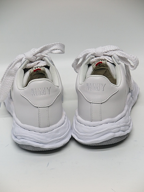 MIHARA YASUHIRO・ミハラヤスヒロ/WAYNE LOW / original sole leather Low-Top sneaker/WHT