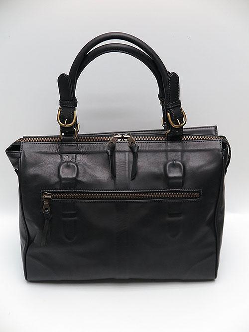 MIHARAYASUHIRO/COWleather invisible bag/BLK.