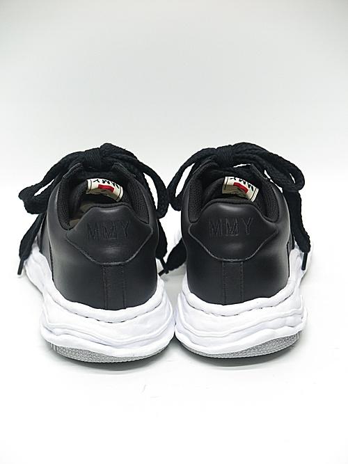 MIHARA YASUHIRO・ミハラヤスヒロ/WAYNE LOW / original sole leather Low-Top sneaker/BLK