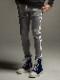 (予約品)10月入荷/22TH RESOUND CLOTHING・リサウンドクロージング/SUPER TIGHT TAPERD Blind LINE HEAT PT/GREYWH