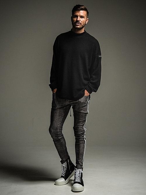 (予約品)10月入荷/22TH RESOUND CLOTHING・リサウンドクロージング/SUPER TIGHT TAPERD Blind LINE HEAT PT/GRCHECK