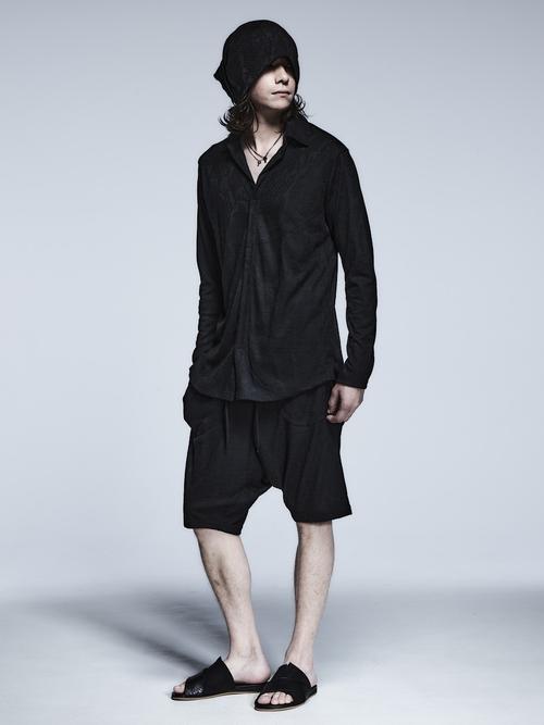 (予約品)2月入荷予定/kiryuyrik・キリュウキリュウ/Python JQD Jersey PullOver Shirts/Black