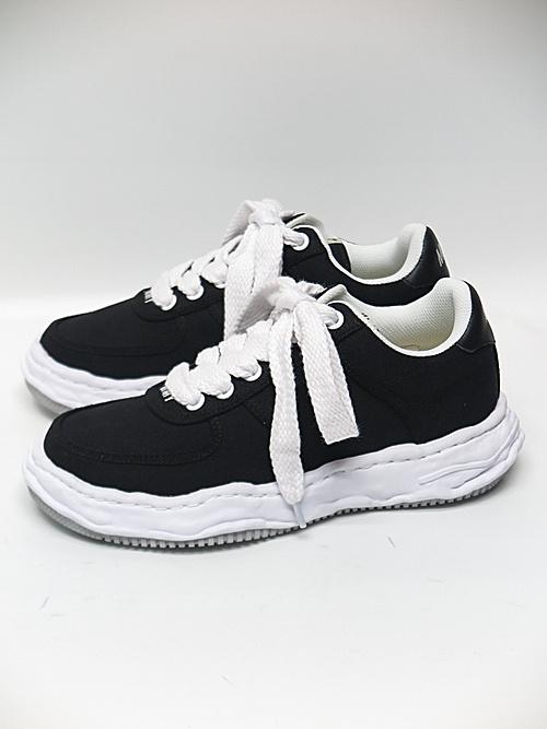 MIHARA YASUHIRO・ミハラヤスヒロ/WAYNE LOW / original sole canvas Low-Top sneaker/BLK