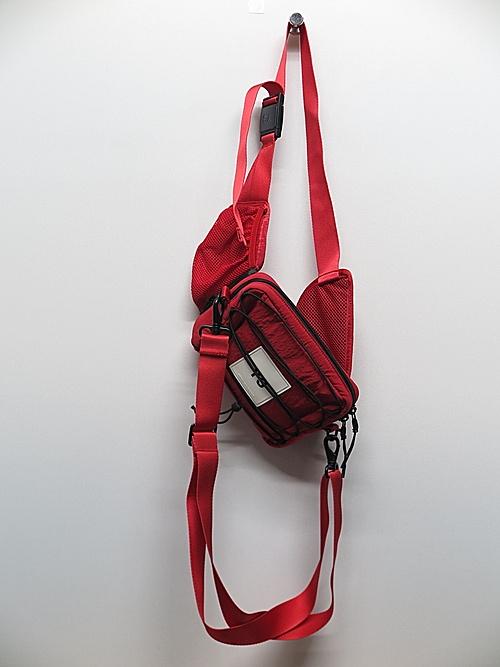 Y-3・ワイスリー/Y-3 SLING BAG/SCARLET