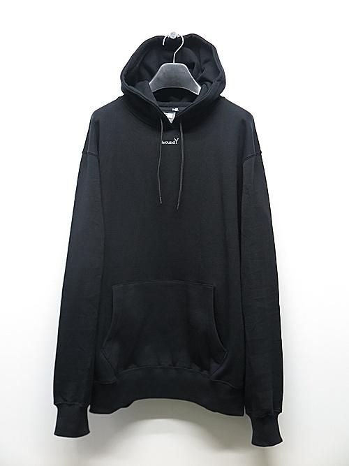 SALE40%OFF/Ground Y・グラウンドワイ・xNEW ERA collaboration Logo Sweat Pull Over Hoodie/BLACK