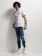 RESOUND CLOTHING・リサウンドクロージング/EX denim jersey  line PT/INDCAMO.