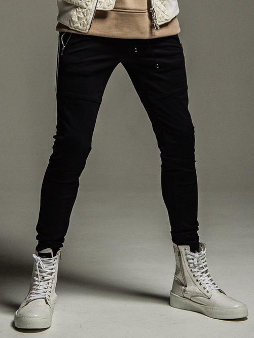 (予約品)10月入荷/22TH RESOUND CLOTHING・リサウンドクロージング/SUPER TIGHT TAPERD Johnson LINE HEAT PT/BKWH
