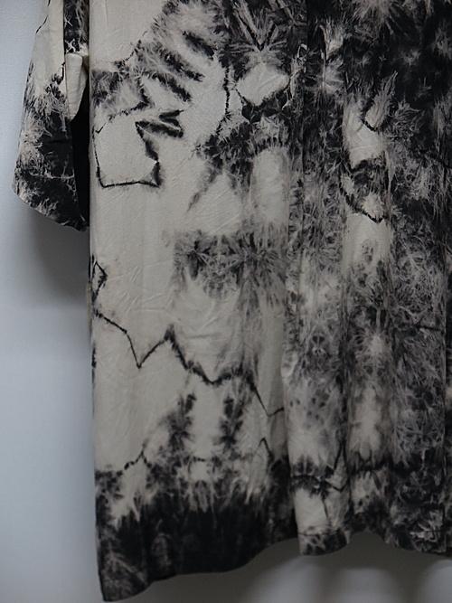 KMRii・ケムリ/Tie Dye Rayon Box Shirt/ONE