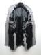 (予約品)1月入荷予定/kiryuyrik・キリュウキリュウ/Swarofskie TWS-Stretch Long Peacked Jacket/Grey