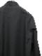 Ground Y・グラウンドワイ/100/2 Cotton Broad China shirt/BLK