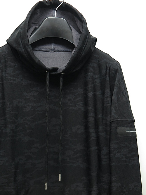 SALE40%OFF/17TH/RESOUND CLOTHING・リサウンドクロージング/HEAT CAMO loose hoodie/BLACK