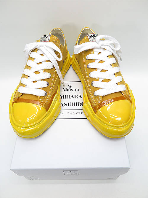 MIHARA YASUHIRO・ミハラヤスヒロ/original sole dip lowcut sneaker/YEL