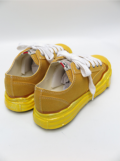 MIHARA YASUHIRO・ミハラヤスヒロ/original sole dip lowcut sneaker/YEL.
