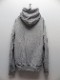 RESOUND CLOTHING・リサウンドクロージング/Processing loose hoodie/GREY