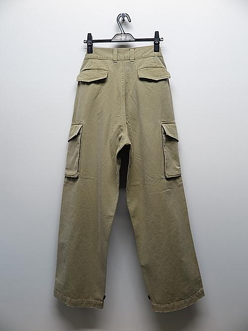 wjk・ダブルジェイケイ/vintage french army/khaki