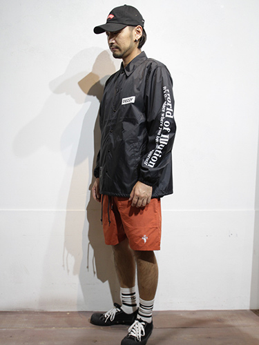 SALE50%OFF/DECOY&CO.・デコイアンドシーオー/World of lllution Coach JKT/レッド.