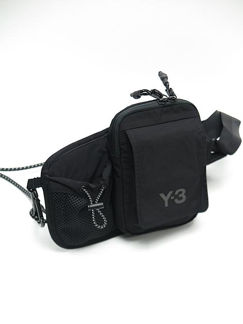 Y-3・ワイスリー/Y3-A20-0000-123/Y-3 CH3 BUMBAG/BLACK.