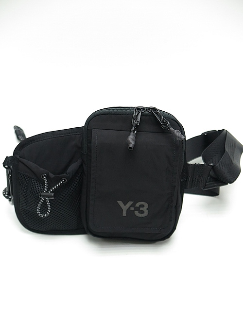 Y-3・ワイスリー/Y3-A20-0000-123/Y-3 CH3 BUMBAG/BLACK