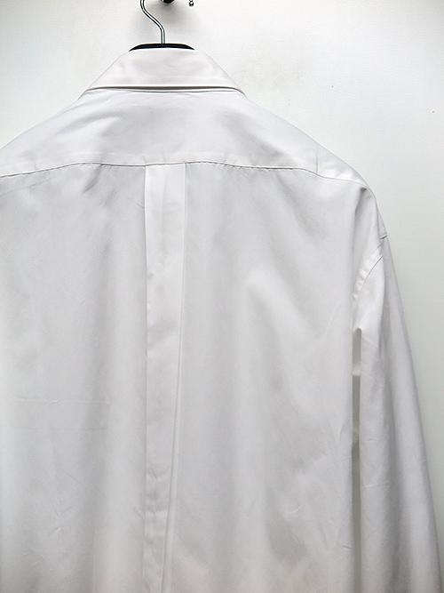 Yohji Yamamoto・ヨウジヤマモト/スーツブロード U-CDH定番シャツ/ホワイト