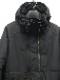 RIPVANWINKLE・リップヴァンウィンクル/タイプライターピマストレッチ ANORAK HOODIE/MATT BLACK