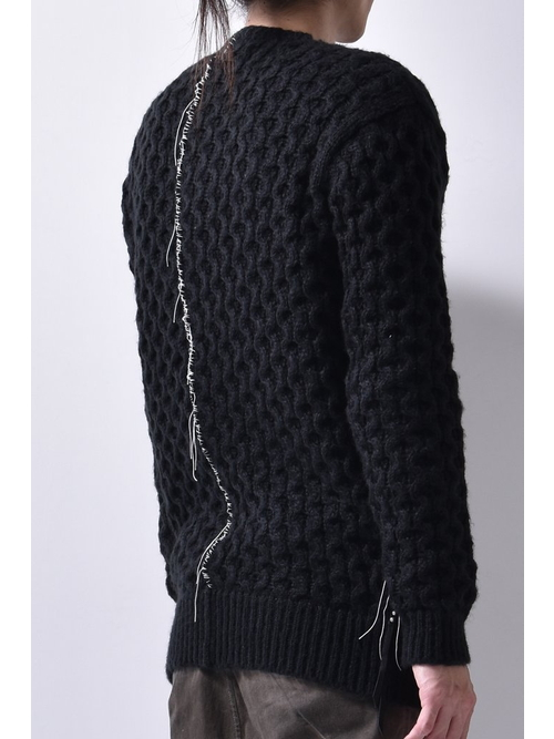 KMRii・ケムリ/Bubble Pullover 02/BLK