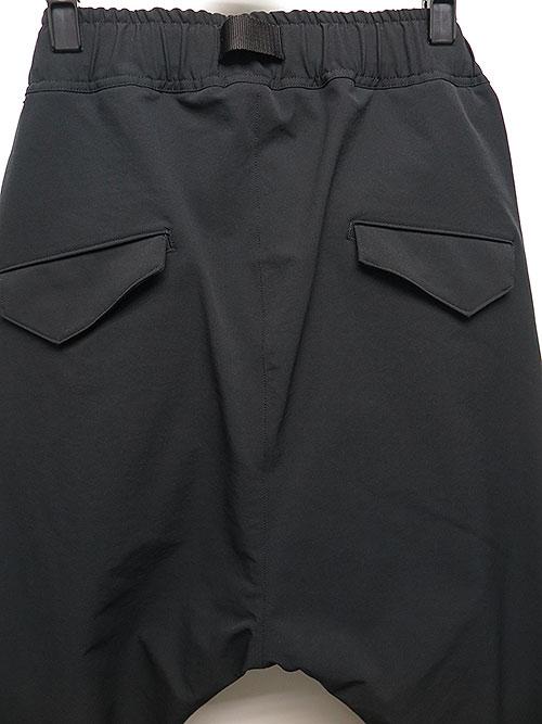The Viridi-anne・ザ ヴィリディアン/撥水ストレッチ ジョガーパンツ BLACK.