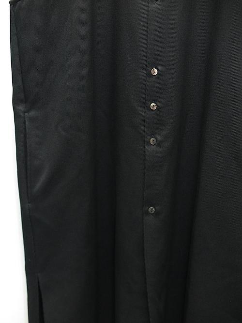 kujaku・クジャク/kamitsure coat/BLK.