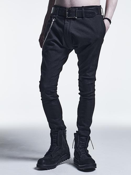 (予約品)9月入荷予定/kiryuyrik・キリュウキリュウ/Black Black Denim Saruel Pants/Black