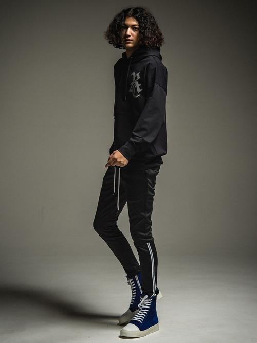 (予約品)11月入荷/22TH RESOUND CLOTHING・リサウンドクロージング/SUPER TIGHT TAPER Audio  HEAT PANTS/BLACK