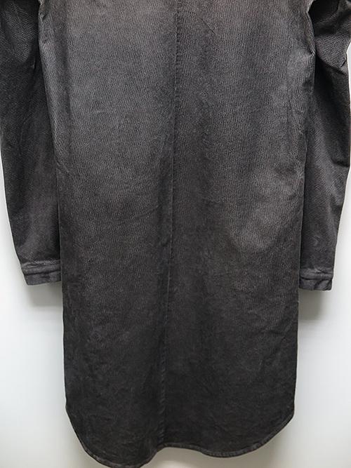 SALE40%OFF/D.HYGEN・ディーハイゲン/ストレッチコーデュロイコールドダイロングシャツ/CHARCOAL.