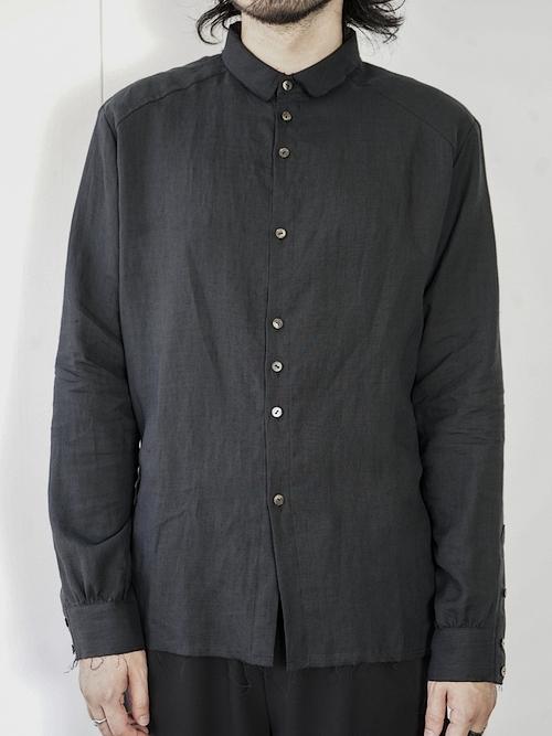 (予約品)1〜3月入荷予定/kujaku・クジャク/   kikyo shirt/BLK