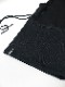 RIPVANWINKLE・リップヴァンウィンクル/ボンバーヒート SNOOD HOODIE/BLACK × CB.BLACK
