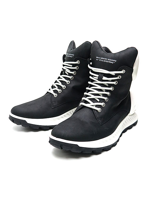 SALE30%OFF/MIHARAYASUHIRO/COW LEATHER ecco collaboration boots/BKWH.