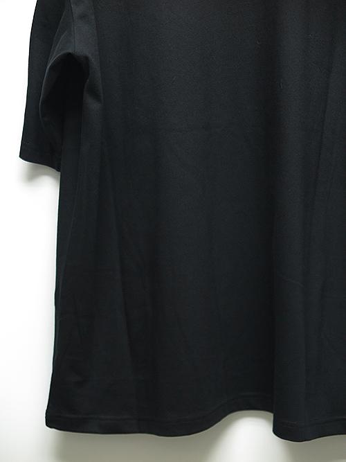 Ground Y・グラウンドワイ・5.0oz Cotton Jersey Patchwork cut B/ブラック