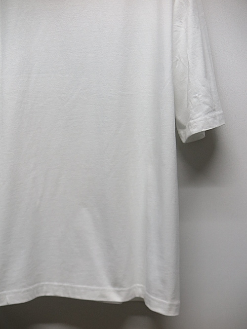 Ground Y・グラウンドワイ・Groundy & Yohji yamamoto 5.6oz Cotton Short Sleeve/WHIte