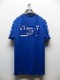 SALE30%OFF/RESOUND CLOTHING・リサウンドクロージング/CREW ROLL UP jersey TEE/BLUE.