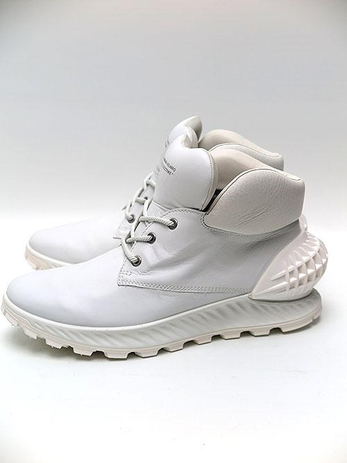 MIHARAYASUHIRO/COW LEATHER ecco collaboration shoes/WHT.