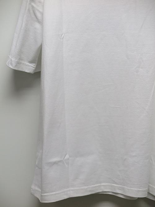 Ground Y・グラウンドワイ・5.0oz Cotton Jersey Patchwork cut C/ホワイト