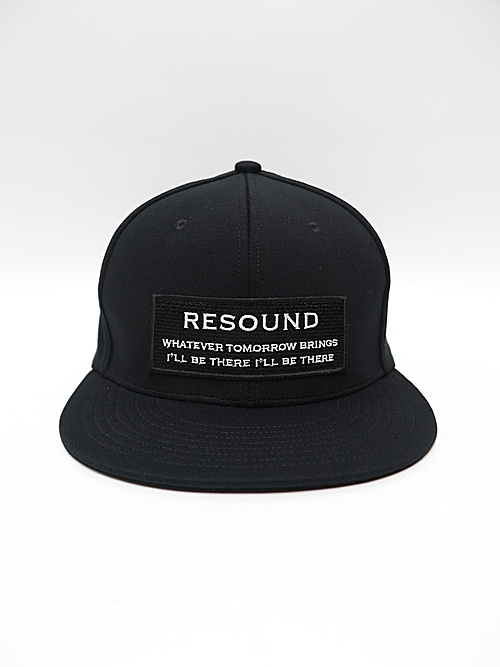 19TH RESOUND CLOTHING・リサウンドクロージング/BOXROGO BB CAP/BLACK