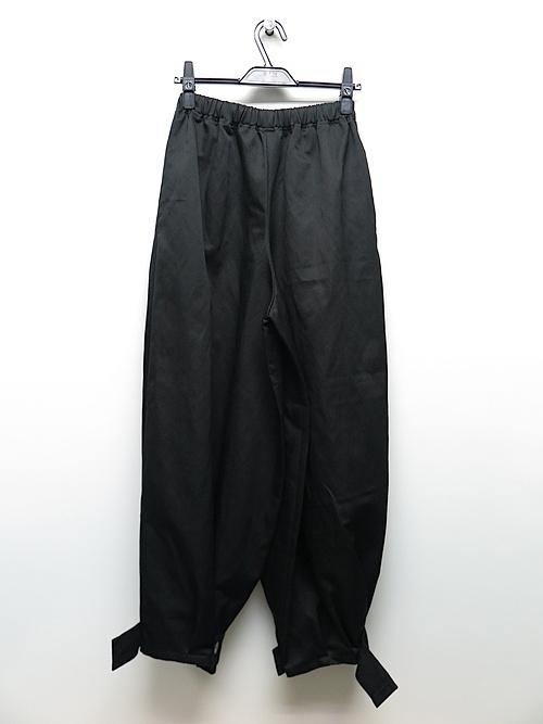 kujaku・クジャク/fuji pants/BLK