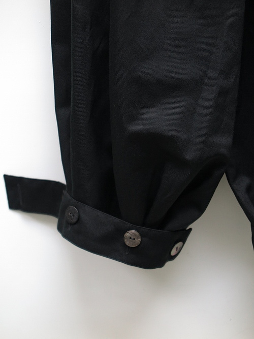kujaku・クジャク/fuji pants/BLK.