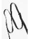 (予約品)2月入荷/nude:masahiko maruyama ・ヌード:マサヒコマルヤマ/Cow Leather Leather SUSPENDERS-BLK