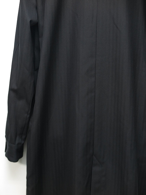 kujaku・クジャク/jinchoge coat/BLK.