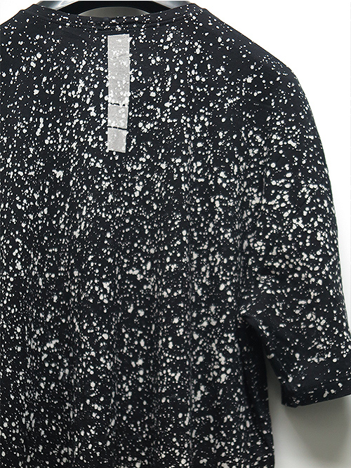 KMRii・ケムリ/Cotton Discharged Cut/ SS/BLACK.