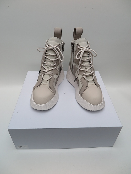 SALE40%OFF/JULIUS・ユリウス/MICROFIBER PADDED LACE-UP BOOTS/OFF WHITE