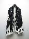(予約品)9月入荷予定/kiryuyrik・キリュウキリュウ/InkJetFleece Blanket/Black&White